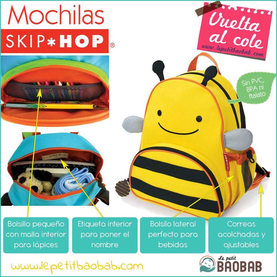 Bolsas Infantiles Skip Hop Cómodas Y Prácticas en Le petit BAOBAB