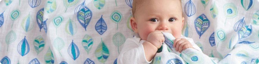 muselinas algodon organico para bebes en LE petit Baobab, tu tienda bebe online