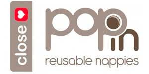 logo pop in bañadores by close parent
