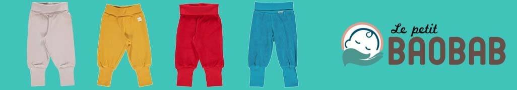 Pantalones Bebe Colores Básicos