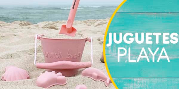 Juguetes playa bebe